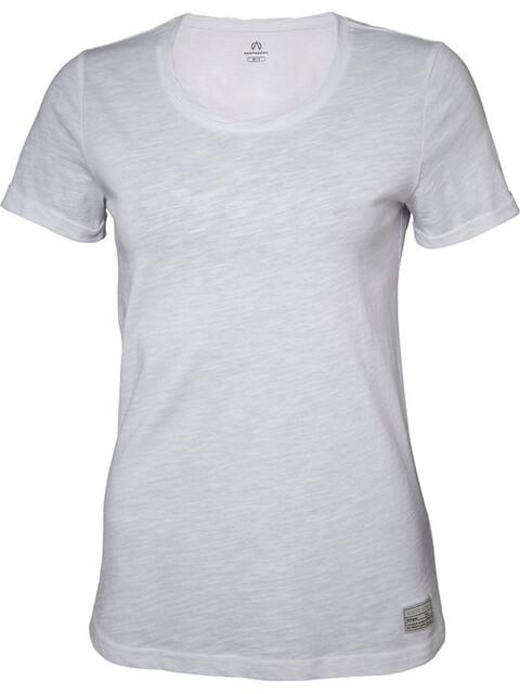 North Bend Slub T-Shirt Damen weiss